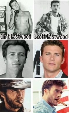 Eastwood looks — and acts — like his dad Clint Eastwood's son looks just like him/This just nearly kills me.Clint Eastwood's son looks just like him/This just nearly kills me. Clint And Scott Eastwood, Celebrity Kids, Celebrity Photos, Clint Eastwoods Son, Rugged Men, Hot Hunks, I Love Mom, Raining Men, Gran Torino