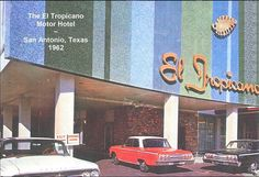 """When we opened in 1962, #ElTropicano was the first hotel on The San Antonio River Walk. And to this day, we continue embody Texas' famed tradition for hospitality with a sunny, sleek retro vibe sure to delight every guest. Click to learn more about """"El Trop""""."""