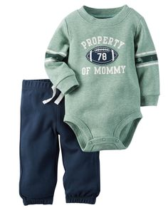 2-Piece Bodysuit & Pant Set | Carters.com