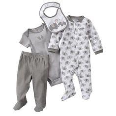 Carter's Elephant Sleep and Play Set - Baby