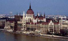 Budapest Parliament Building.
