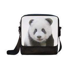 Panda Bear Crossbody Nylon Bag. FREE Shipping. #artsadd #bags #panda