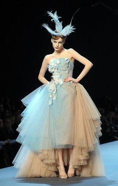 breathtaking haute couture...john galliano for christian dior...spring 2011