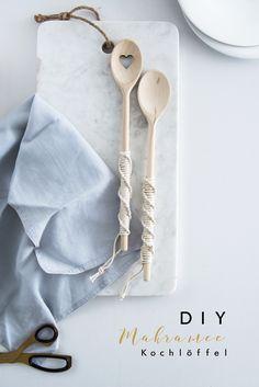 DIY Makrame Kitchen Utensils Tutorial