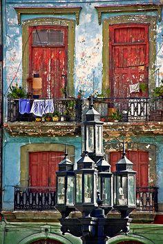 Balconies . Havana