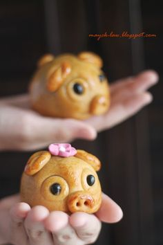 这些猪仔们的魅力真是十足啊! 看到许多家都做了这可爱的嘟嘟猪月饼, 我也跟着队伍参加了 Ann 的猪仔团。 看! 这一只只的猪仔是不是可爱至极呢!     但是, 现实中的猪就不是这般的可爱了。 猪, 给人的印象是很脏, 很丑也很臭。 ...