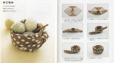 Furoshiki- Wrapped basket. Instructions included.