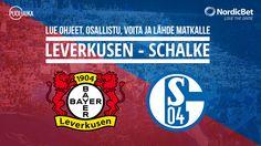 Kilpailu: Voita matka Bundesliiga-otteluun Leverkusen - Schalke    Toimitukselle on taas avautunut mahdollisuus viedä lukijoita mukanaanupealle futiskulttuurireissulle Saksaan Leverkusenin ja Schalken kohtaamis... http://puoliaika.com/kilpailu-voita-matka-bundesliiga-otteluun-leverkusen-schalke/ ( #Bundesliiga #kilpailu #kilpailut #saksa)