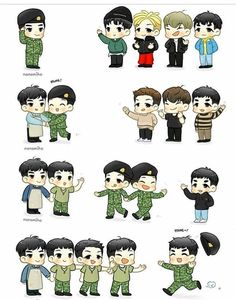 FanArt BigBang Vip Bigbang, Daesung, Winner Yg, Naughty Kids, Shinee Jonghyun, Choi Seung Hyun, G Dragon, Funny Cute, Cool Bands