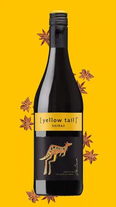[yellow tail] Shiraz is everything a great wine should be — vibrant, smooth, rich and easy to drink. Food Graphic Design, Ad Design, Animation Stop Motion, Ads Creative, Insta Videos, Inspirational Videos, Social Media Design, Motion Design, Logo Design Inspiration