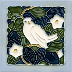 Golem Kunst- und Baukeramik GmbH | Art Nouveau tiles decorated | Art Nouveau tiles4