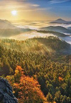 Bohemian Switzerland, Czech Republic: