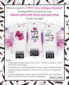 Gyűjtsd össze a trendi Oriflame pólók teljes kollekcióját!  Elérhetőségeim: +36703811307, https://www.gallaaniko.eu/