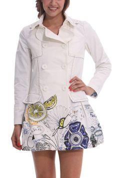 "Canada Goose montebello parka outlet price - Desigual Spring Coat ""Primavera"" in Canada at Fun Fashion Boutique ..."