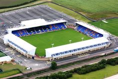 The New Meadow - Aerial - Shrewsbury Town FC