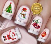 nails, You can collect images you discovered organize them, add your own ideas to your collections and share with other people. Christmas Nail Stickers, Christmas Nails, Merry Christmas, Outdoor Christmas, Short Nails, Long Nails, Long Fingernails, Water Nails, Nail Tattoo