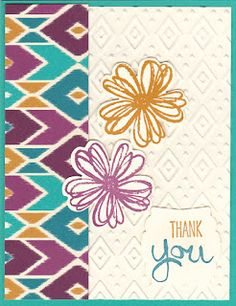 Bohemian Rhapsody, by Carole Parsons, Stampin' Up! Demonstrator