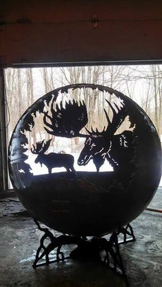 Begin the process for your own Custom Designed outdoor fire pit. Custom Designs are a collaboration between The Fire Pit Gallery and you. Deposit needed. Fire Pit Globe, Fire Pit Ball, Fire Pit Sphere, Fire Pit Party, Welding Art Projects, Welding Ideas, Fire Pit Gallery, Outside Fire Pits, Custom Fire Pit
