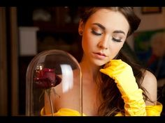 Belle Beauty and the Beast Make Up Tutorial - YouTube
