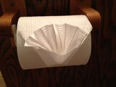 My Creative Corner!: Toilet Paper Folding Happy 4th of July! Fun and VERY easy toilet paper folding
