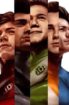 They are all my heroes and they have all saved my life :')