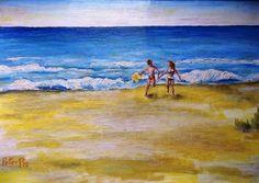 oil painting, artist Peter Pavluvčík - ráno