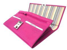 91e7f028de8b0e Travel Document Wallet - Soft Leather - Lockable (Red): Amazon.co.uk: Shoes  & Bags