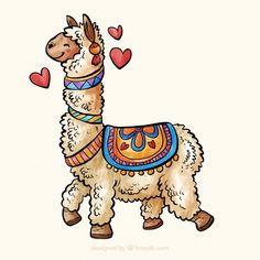 Discover thousands of free-copyright vectors on Freepik Alpacas, Cute Alpaca, Llama Alpaca, Llama Arts, Alpaca Gifts, Vector Pattern, Free Pattern, Cute Illustration, Mandala Design