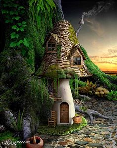 Fairy Cottage by the Sea