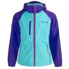 Columbia Sportswear Spring Sky Jacket (For Girls) Columbia Sportswear, Columbia Jacket, Rain Jacket, Windbreaker, Sky, Athletic, Coats, Celebrities, Spring