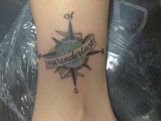 Compass/Globe Tattoo. By Pup @ All American Tattoo in Stafford, VA - Imgur