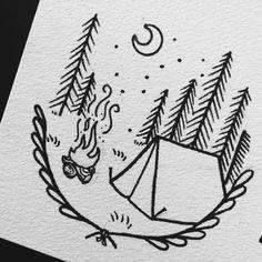 zelt mit b ume freuerstelle und mond zeichnen f r anf nger einfaches bild Dibujos De Lobos, Dibujos Blanco Y Negro, Harry Potter Dibujos, Dibujos Para Dibujar, Dibujos De Caras, Dibujos De Perros, Dibujos De Corazones, Dibujos De Rosas, Dibujos De Manos, Dibujos Infantilesi, Dibujos De Navidad. #dibujostiernos #dibujoslindos #dibujostristes #dibujosbonitos Pencil Art Drawings, Drawing Sketches, Drawing Ideas, Doodle Art, Camping Drawing, Tent Drawing, Moon Drawing, Cute Easy Drawings, Easy Animals