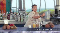 Piña Colada: The Caribe Hilton's original (and best!) Piña Colada recipe!