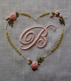 beautiful embroidered baby linens