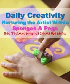 Daily Creativity – Nurturing the Artist Within – Sponges