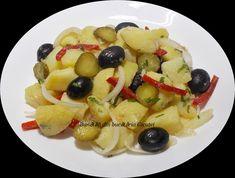 Salata orientala(de post) - Bunătăți din bucătăria Gicuței Fruit Salad, Orice, Roman, Food, Fruit Salads, Meals, Yemek, Eten