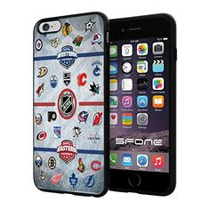 """Hockey NHL, #1393 iPhone 6 Plus (5.5"""") I6+ Case Protection Scratch Proof Soft Case Cover Protector SURIYAN http://www.amazon.com/dp/B00X6495K8/ref=cm_sw_r_pi_dp_.cJwvb1733GE9"""