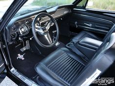Mdmp 1102 04  1967 Ford Mustang Coupe  Interior