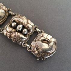 Gallery 925 - Georg Jensen Dove Bracelet No. 32 by Kristian Mohl-Hansen , Handmade Sterling Silver.