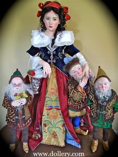 "Jamie Williamson One of a Kind Doll Artist  ""Snow White"""