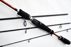 High sensitive 4 sections travel spinning rod rod rod Casting Rod, Spinning Rods, It Cast, Fishing, Travel, Ebay, Viajes, Fishing Rods, Trips