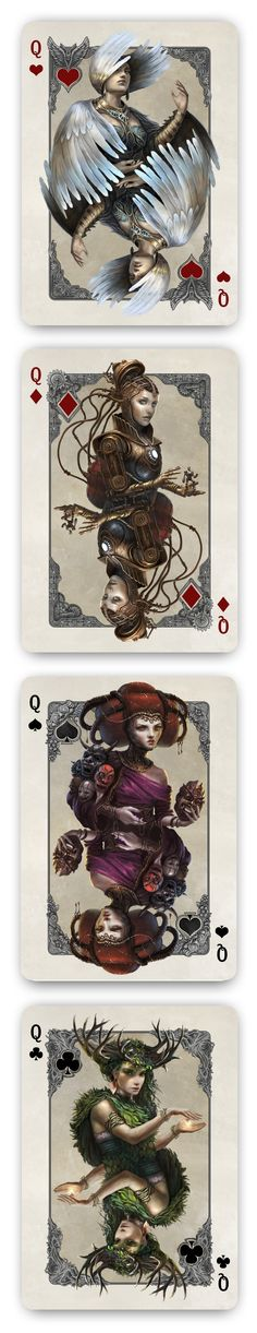 Kingdoms of a New World Playing Cards Printed by USPCC. by Nathanael Mortensen. — Kickstarter