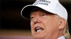 """Image copyright                  Reuters Image caption                                      Donald Trump mantiene a la inmigración como el tema central de su campaña presidencial.                                """"El se quede más tiempo de lo que dura su visa es sacado del país rápidamente"""". Así lo anunció este sábado el candidato a la presidencia de Estados Unidos por el Partido Republicano, Donald Trump, en un acto en Iowa,"""