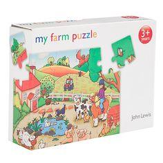 Buy John Lewis My Farm Jigsaw Puzzle Online at johnlewis.com