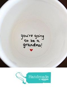 You're Going to be a Grandma Coffee Mug, Pregnancy Announcement Ideas, We're Pregnant, New Grandma Gift, New Father Gift, New Grandmother Gift from TheLoveMugs