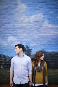 Short North Arts District Engagement Shoot by Angela Fortin Snyder Photography | Two Bright Lights :: Blog