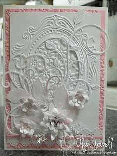 A little bit of every thing..........Cuttlebug;Memory Box;Spellbinders;Hearfelt Creations;Cherry Lynn; Sizzix