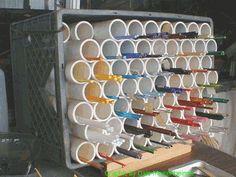 PVC pipe for glass storage ... - Lampwork Etc.