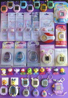 Tamagotchi! I want one like I had when I was a kid and the new one