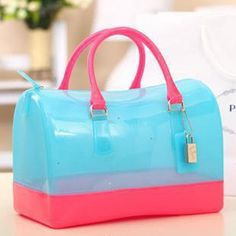 Hot Chic New Lovely Jelly Candy Bag Satchel Pillow
